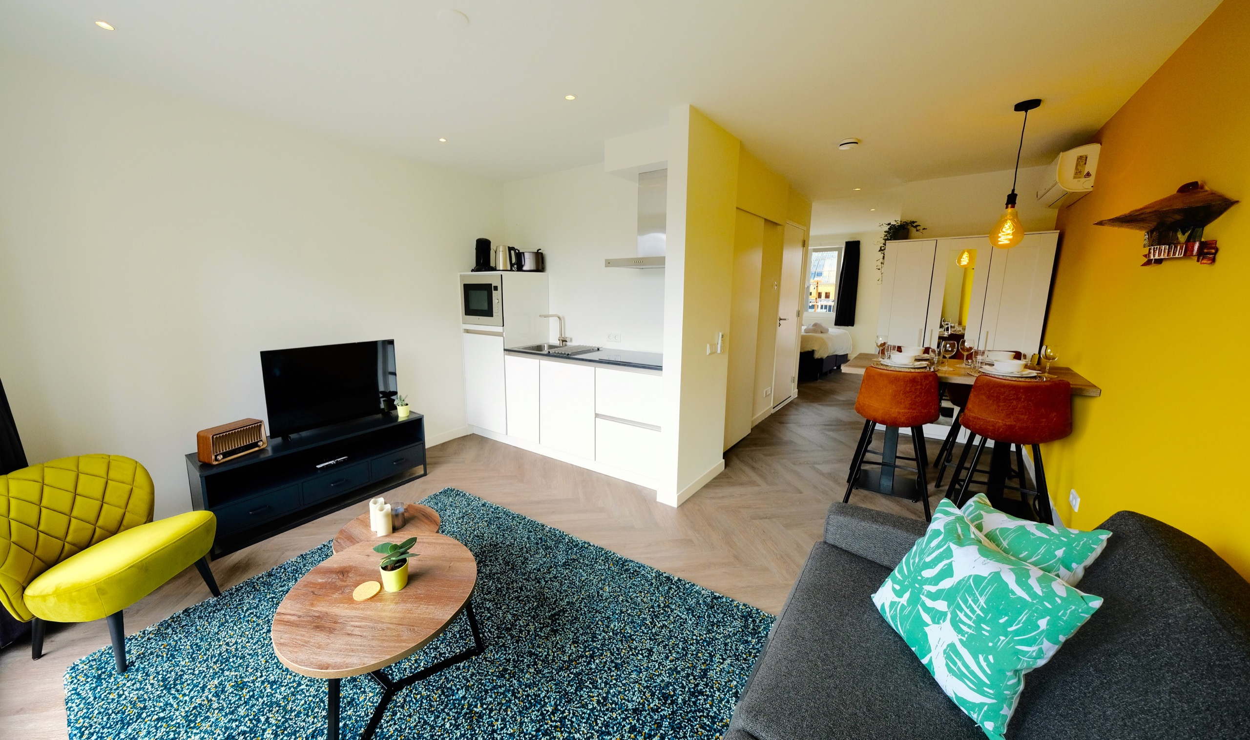 Green Stay Serviced Apartments Apartment C foto 04